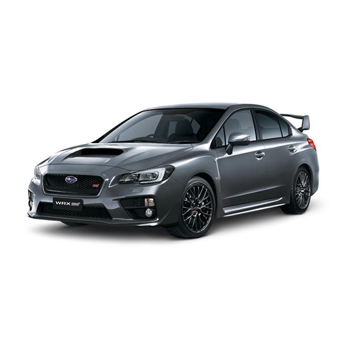 Subaru WRX STI Dark Grey Metallic