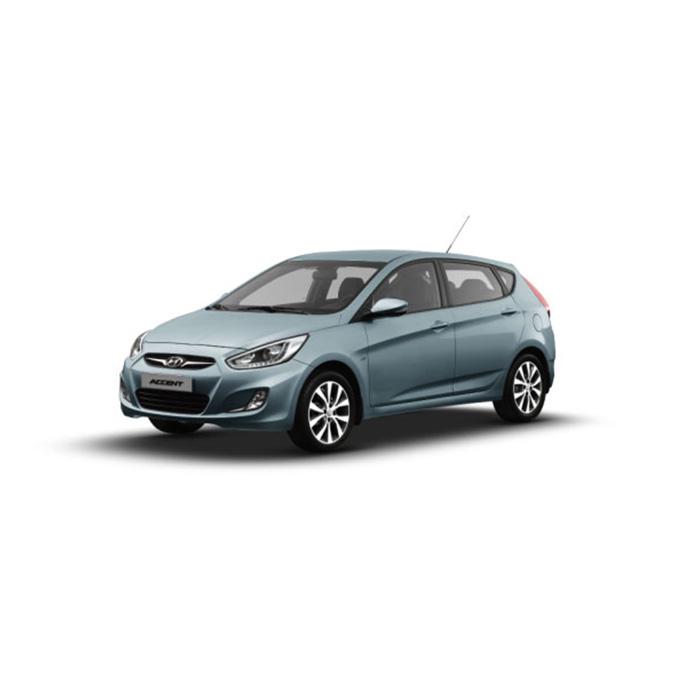Hyundai Accent Hatchback Clean Blue