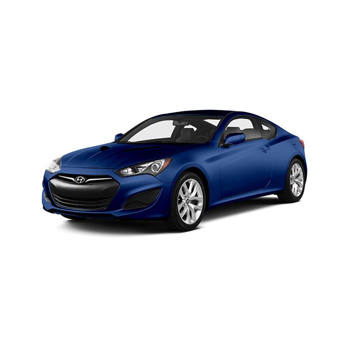 Hyundai Genesis Coupe Coast Blue