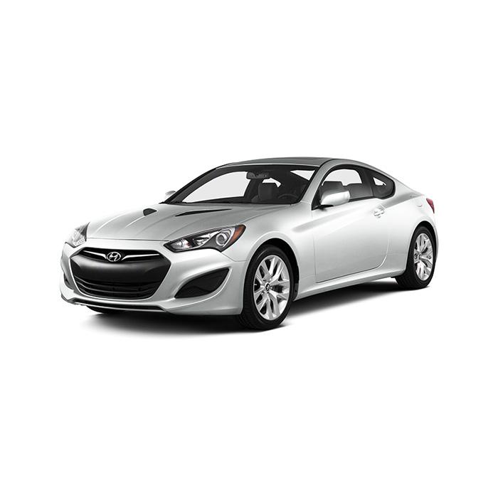 Hyundai Genesis Coupe White
