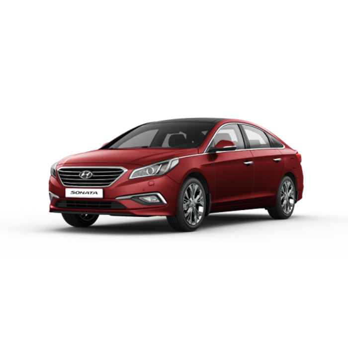 Hyundai Sonata Remington Red