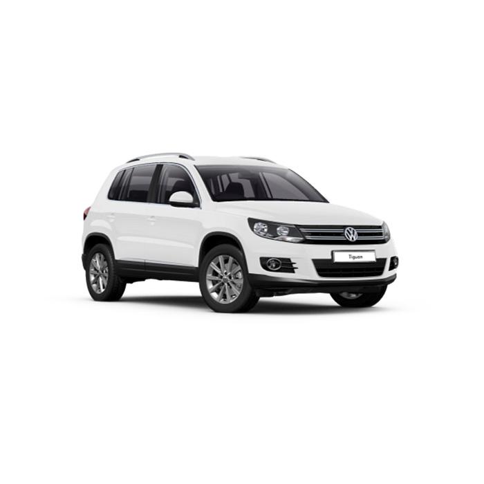 Volkswagen Tiguan Pure White