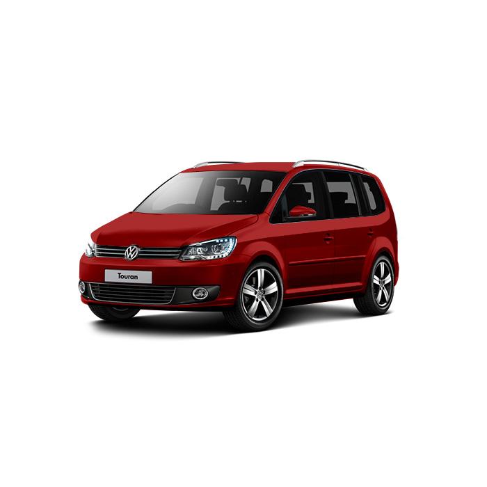 Volkswagen Touran Wild Cherry Red Metallic
