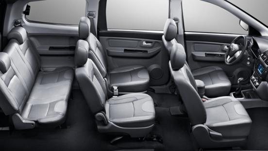 2018 BAIC MZ40 interior seats