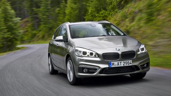 2018 BMW 2-Series Gran Tourer road