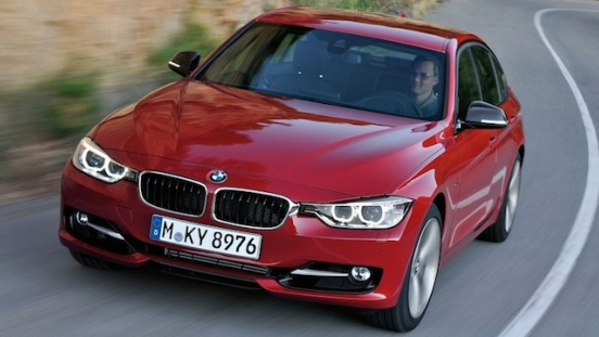 2018 BMW 3-Series Sedan grille