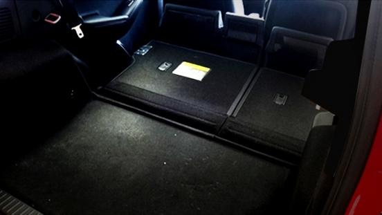 2018 BYD S1 folder rear seats
