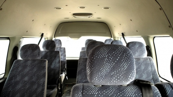 2018 FOTON View Traveller interior seats