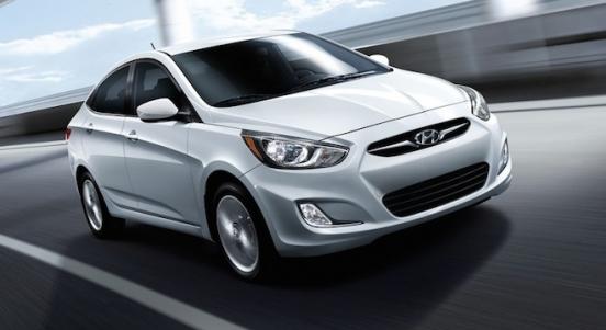 2018 Hyundai Accent Sedan silver front