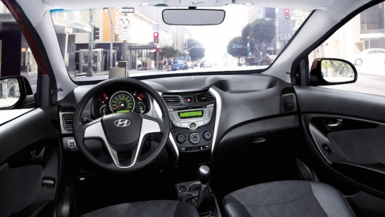 2018 Hyundai Eon dashboard