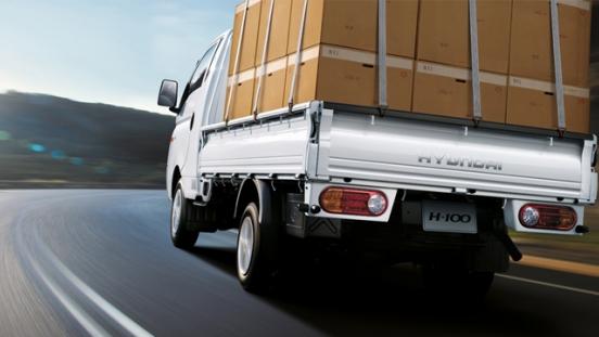 2018 Hyundai H100 cargo
