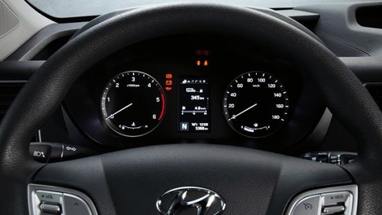 2018 Hyundai H350 gauge cluster