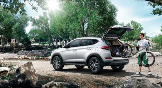 2018 Hyundai Tucson cargo