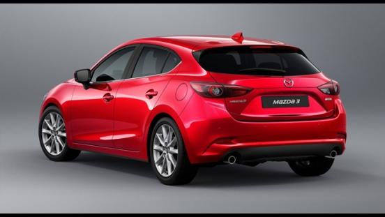 2018 Mazda 3 Hatchback rear
