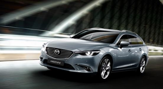2018 Mazda 6 Sports Wagon road