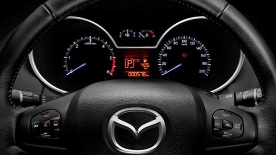 2018 Mazda BT-50 gauge cluster