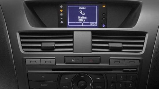 2018 Mazda BT-50 infotainment