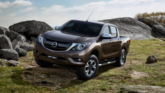 2018 Mazda BT-50 off-road