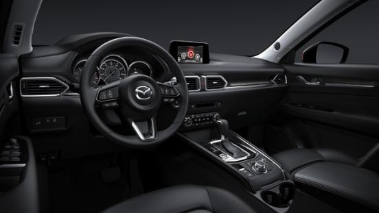 2018 Mazda CX-5 dashboard
