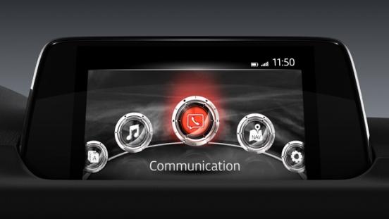 2018 Mazda CX-5 infotainment system