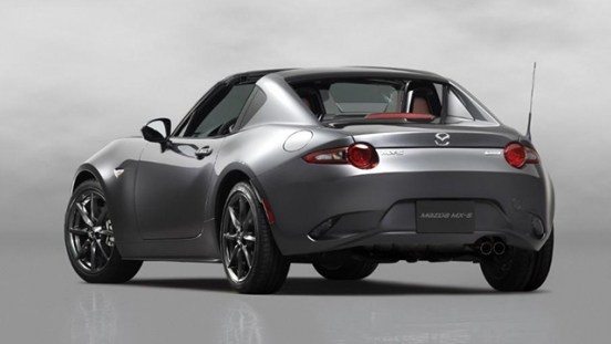 2018 Mazda MX-5 RF rear