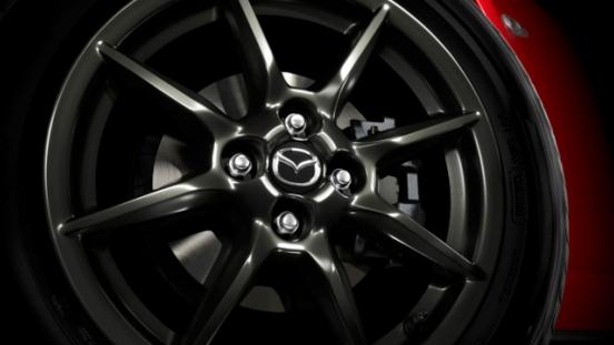 2018 Mazda MX-5 wheels