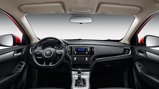 2018 MG RX5 interior