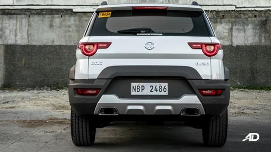 2019 BAIC BJ20 exterior rear philippines