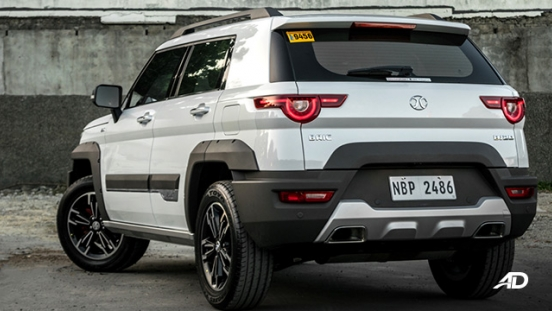 2019 BAIC BJ20 exterior rear quarter