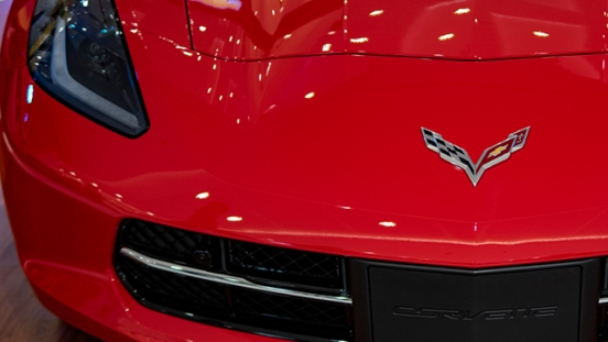 2019 Chevrolet Stingray grille