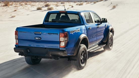 2019 Ford Ranger Raptor Philippines rear
