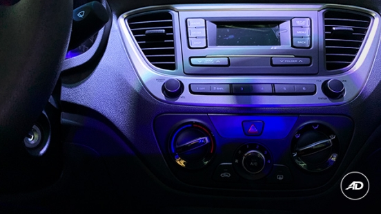 2019 Hyundai Accent head unit