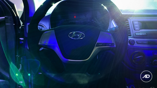 2019 Hyundai Accent steering wheel