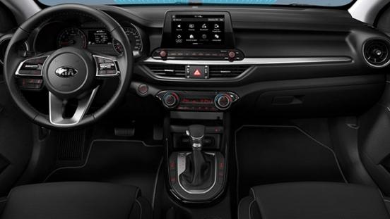 2019 Kia Forte interior dashboard front
