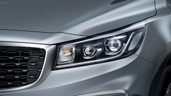 2019 Kia Grand Carnival headlight