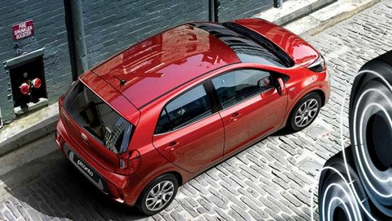 2019 Kia Picano exterior top