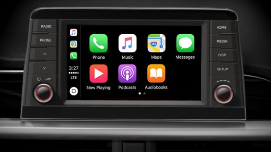 2019 Kia Picano interior touchscreen infotainment