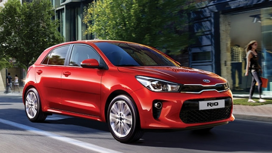 2019 Kia Rio exterior quarter right