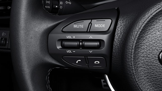 2019 Kia Rio Interior  steering wheel controls