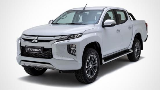 2019 Mitsubishi Strada Philippines front quarter