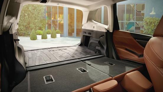 2019 Subaru Forester trunk