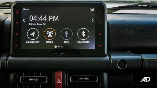 2019 Suzuki Jimny Infotainment System