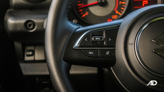 2019 Suzuki Jimny Steering Wheel Audio Controls