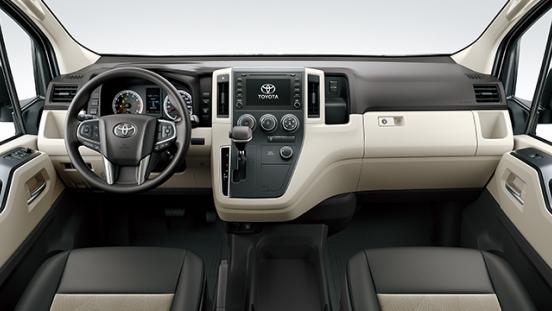 2019 Toyota Hiace interior