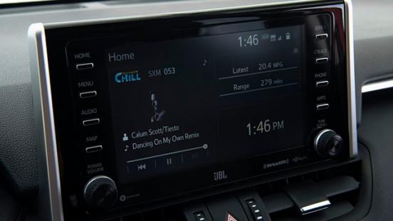 2019 Toyota RAV4 head unit