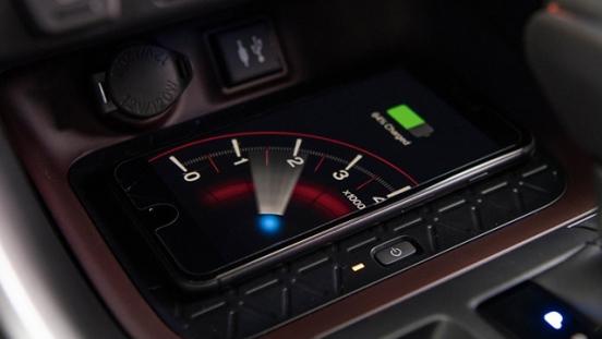 2019 Toyota RAV4 wireless charger