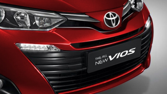 2019 Toyota Vios Philippines grille
