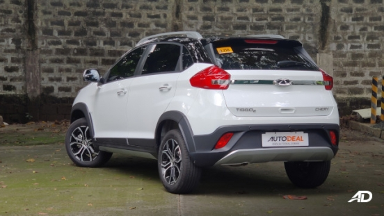 2020 Chery Tiggo 2 Philippines Rear Quarter Exterior