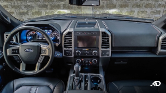 2020 Ford F-150 Platinum Philippines Dashboard