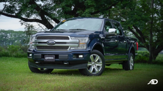 2020 Ford F-150 Platinum Philippines Exterior Front Quarter